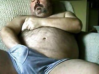 Hairy Chubby Bear Jo5