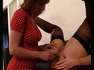 Mature And Milf In Nylons Licking And Anal Toying