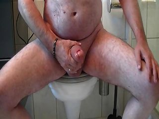 Jerking Fat Cock