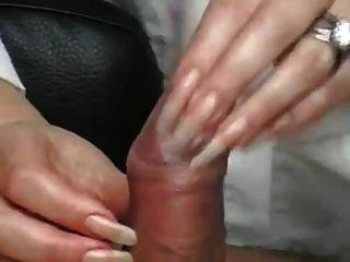 Long Nails Handjob