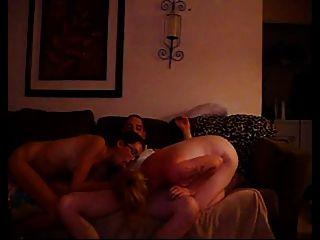 Amateur White Trash Threesome
