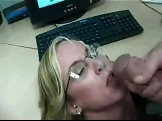Milf Head #93 Four-eyes Secretary, In The Office