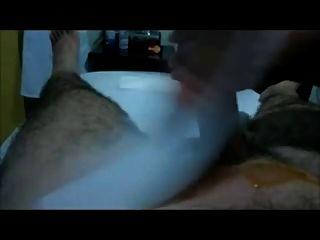 Waxing Dick Happy Ending