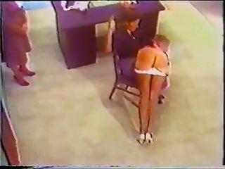 Vintage Office Spanking