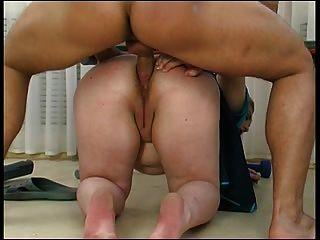 Mature Maid Seduces Boy