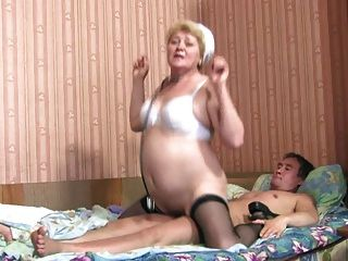 Blonde Russian 50+ Doctor-1