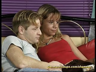 Pickup Young German Couple