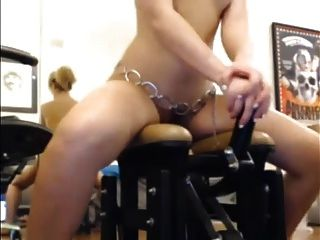 Webcam Girl Play With Some Toys 1