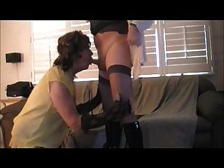 Tammy Fellatrix In Faggot 3-some