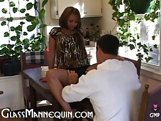 Petite Teen Gets Coffee And A Creampie From Old Neighbor Guy