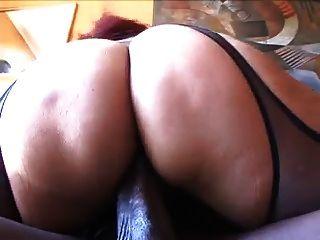 Busty Milf Gina Depalma Fucks Big Black Cock