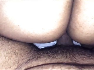 Indian Wife On Top Rides For Her Creampie