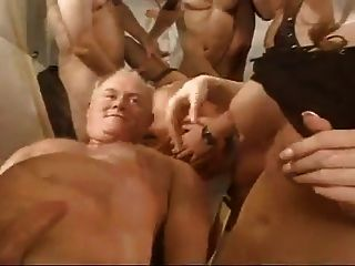 Big sluts with multiple guys fucking