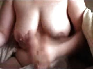 Big Boobed Wife Giving A Morning Handjob