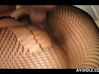 Chubby Japanese Cutie Rides A Hard Cock