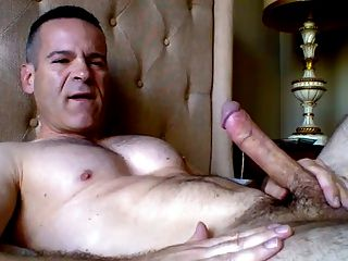 Daddy Shooting In His Mouth