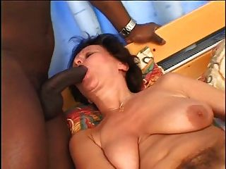Horny Grandma Dasa Loves To Suck Black Cock