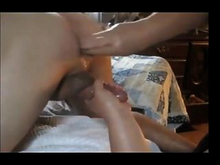 Hubby Gets Fisted And Jerked Off