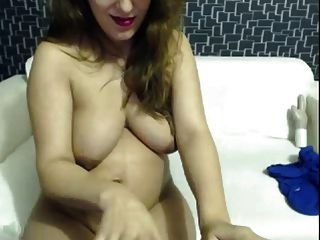 Super Hot Pregnant Babe Show