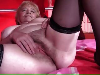 Granny Still Enjoying Herself