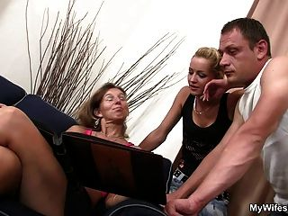 She Sees Her Man Fucking Not Mother In Law