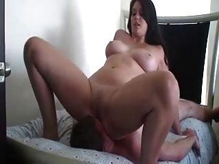 Brunette  Loves Facesitting  In Different Positions