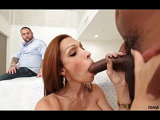 Hot Tranny Wife Fucked By Black In Front Of Husband