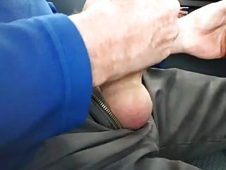Daddy Masturbates In Car