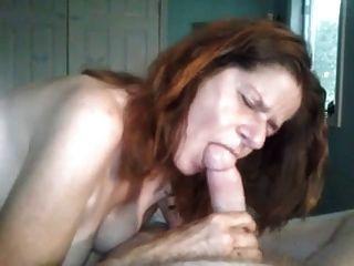 Lesbian Friend Giving A Blowjob