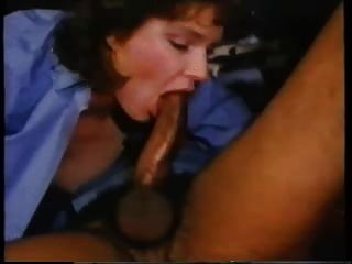 Awesome Vintage Interracial Deep Throat Blow Job! 2015