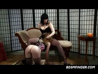 Lesbian Domination In Stockings