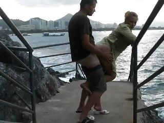 Sex By The Water Is Always Good And Hot With A Blonde.
