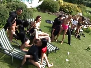 Swimming Pool Sex Party 2!