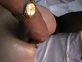 Anal Fisting With Close-up