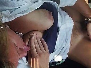 Mature Blonde Finger Fucking Herself