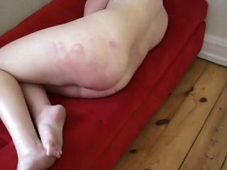 Hard Spanking With A Wet Towel