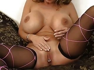 Big Titted Milf Summer Cummings Dildos Asshole And Pussy