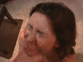 Very Huge Long Cumshot Facial