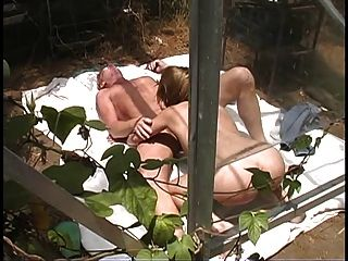 Hairy Blonde With Black Bush And Big Ass Rides Hard  !