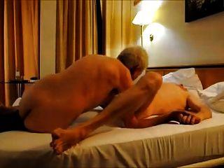 Hot Grandpas Riming And Sucking