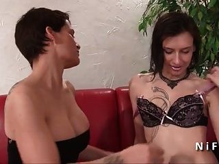 Casting Of A Stunning Small Titted French Slut Analized