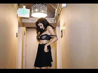 Big Boobs Indian Babe Striptease