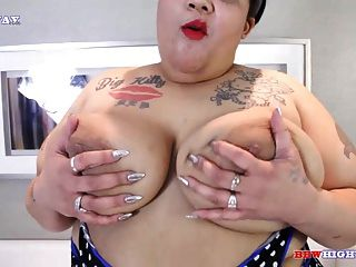 Japanese And Black Bbw Geisha Grimm