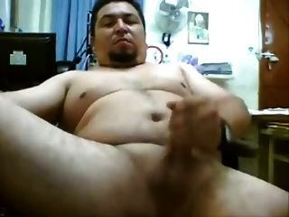 Gordito Hetero Pajero En La Webcam