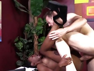 Sexy Black Secretary Gets Fucked In Office