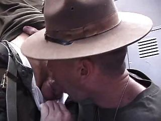 Sergeant And Horny Soldier