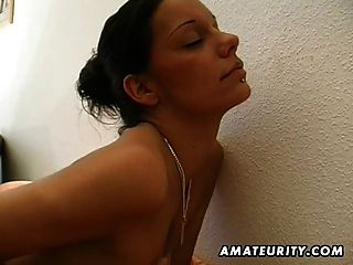 Hot German Amateur Teen Sucks And Fucks With Cumshot