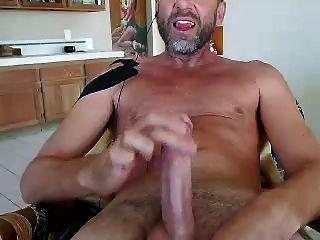 Str8 Daddy Cum On Face Webcam