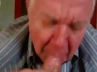 Grandpa Sucks A Mean Cock