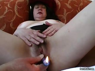 Chubby Mom Gets Her Hairy Pussy Fucked
